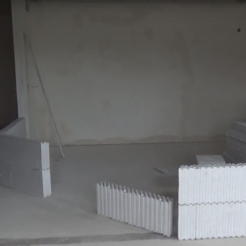 发泡聚苯乙烯EPS模板块 / 用于室内墙 / 用于隔墙 / 绝缘材料