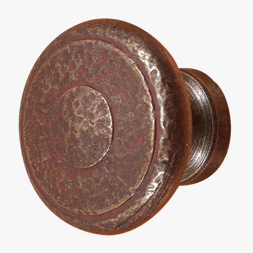 传统风格球形门把手 / 锻铁