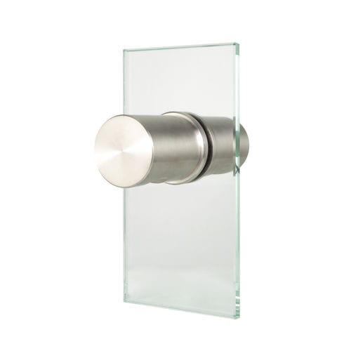 现代风格球形门把手 / 不锈钢