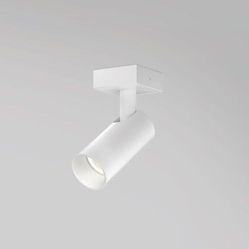 LED式轨道灯 / 管状 / 铝制 / 商用