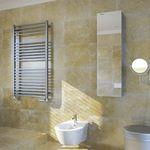 不锈钢毛巾架散热器 / 现代风格 / 浴室 / 壁挂