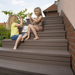 木塑复合材料踏步板 / 防滑 / 高耐拉力