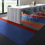 簇绒满铺地毯 / 毛圈 / 凹凸立体 / 合成纤维