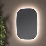 壁挂镜子 / LED照明 / 现代风格 / 矩形