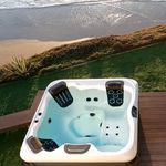地上水疗浴缸 / 矩形 / 多座位 / 户外