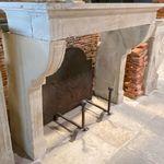 传统风格壁炉墙