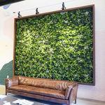 合成纤维绿植墙