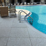 泳池边混凝土砖