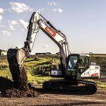 履带式挖土机