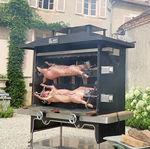 燃木烤肉炉 / 炭 / 移动式 / 双机轴