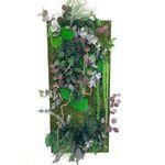 稳定植物画框