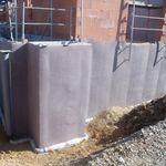 聚丙烯排水层 / 防护 / 防水密封 / 地下室墙体