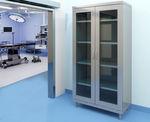 可调节的衣柜 / 现代风格 / 钢 / 平开门式