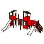 游乐场游乐设施 / HDPE / 金属 / 模块化