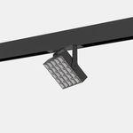 LED式轨道灯 / 方形 / 金属 / 用于商店