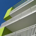 铝制护栏 / 栅栏式 / 户外 / 用于阳台