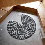 现代风格地毯 / 几何 / 新西兰羊毛 / 圆形