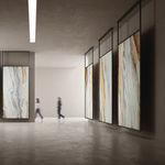 陶土天然石板 / 抛光 / 用于地面 / 室内装潢