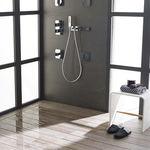 直装式淋浴底盆 / 陶瓷 / 超平 / 平地式
