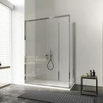 滑动式浴缸隔断