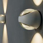 现代风格壁灯 / 户外 / 铝制 / 玻璃