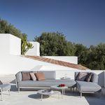 组合沙发 / 转角 / 现代风格 / 花园
