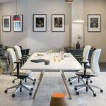 现代风格会议室桌 / 木质 / 矩形