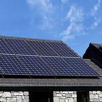 多晶质混合太阳能面板 / 供暖 / 玻璃-玻璃