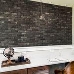 外墙砌面砖 / 室内 / 黑色 / 仿石