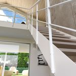 金属护栏 / 栏杆形状 / 室内 / 用于楼梯