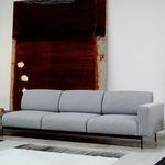 组合沙发 / 现代风格 / 布料 / 金属