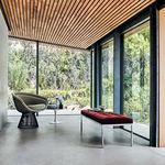 现代风格长凳 / 钢 / 布料 / 皮质