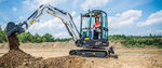 小型挖土机 / 履带式 / 回转 / 紧凑型