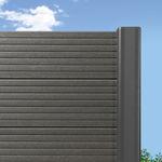 花园围栏 / 百叶窗式 / 木塑复合材料 / 高安全性