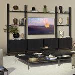 现代风格电视墙组合柜
