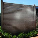 花园围栏 / 百叶窗式 / 木质