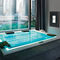 地上水疗浴缸 / 矩形 / 4人座 / 户外