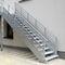 直线型楼梯 / 金属 / 金属台阶 / 无踢脚板JOMY