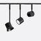 LED式轨道灯 / 环形 / 带漆铝 / 用于商店