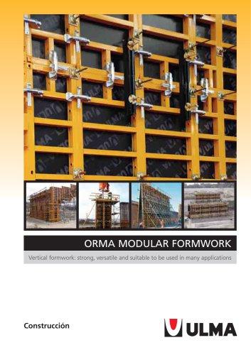 ORMA modular formwork
