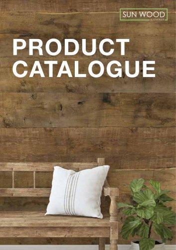 SUN WOOD - PRODUCT CATALOGUE