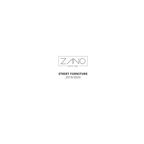 zano street furniture 2019 2020