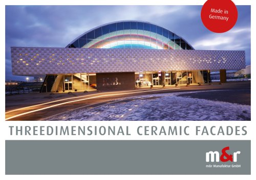 m&r Threedimensional Ceramic Facades