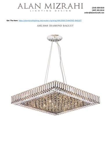 AMLS068 DIAMOND BAGUET