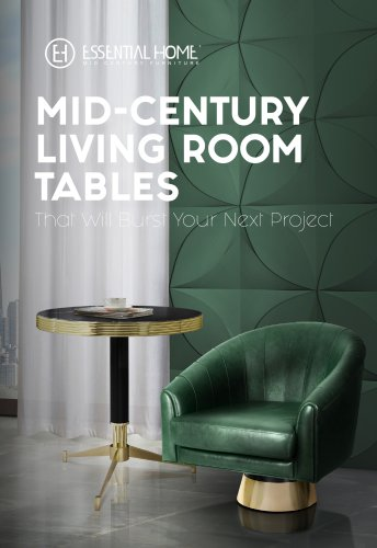 Mid-Century Living Room Tables