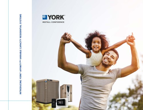 Affinity™ YORK Varible Capacity Residential Systems