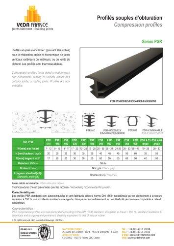 Compression profile - Series PSR