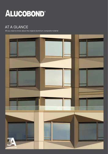 ALUCOBOND® At a glance