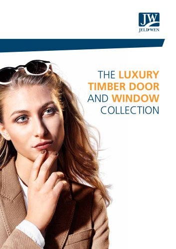 The luxury timber door and window collection