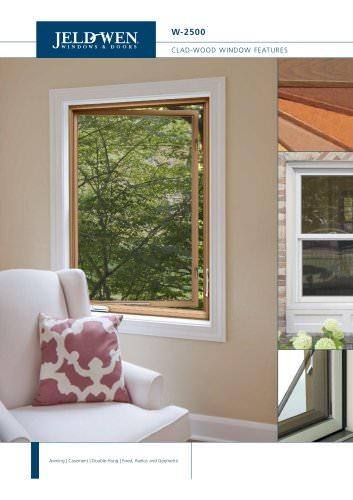 W-2500 Clad-Wood Windows